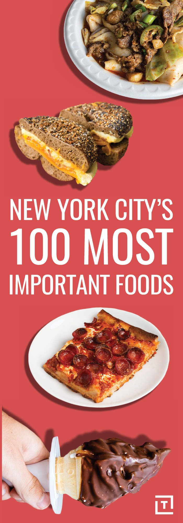 New York City's 100 Most Important Foods