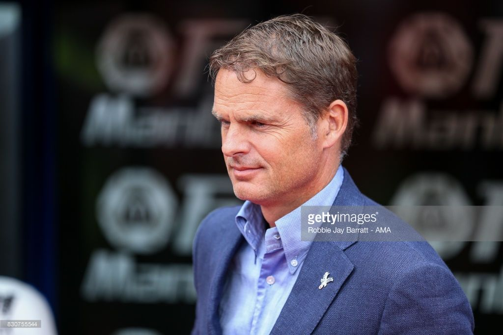 Frank de Boer head coach / manager of Crystal Palace during the Premier League match between Crystal Palace and Huddersfield Town at Selhurst Park on August 12, 2017 in London, England.
