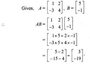 RBSE Solutions for Class 12 Maths Chapter 3 Matrix