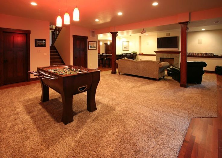 Inspirational Basement Rec Room Design