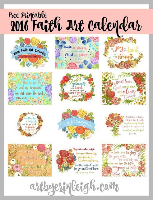 make you own printable calendar