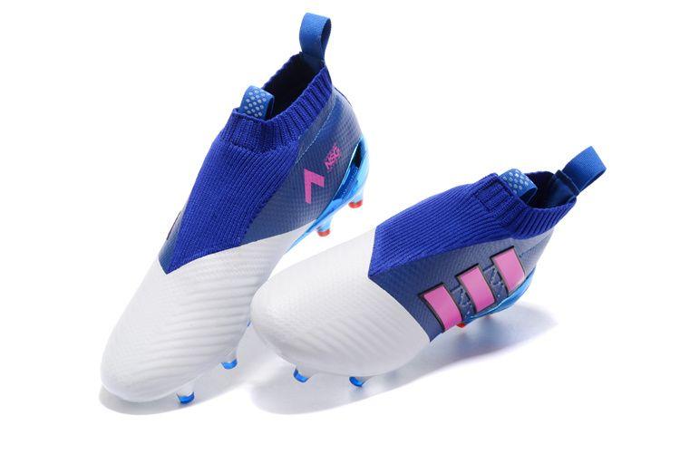 adidas ACE 17+ Purecontrol FG BlueShock PinkWhite