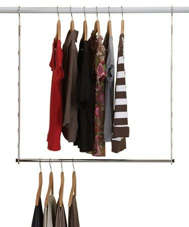 Double Hang Closet Rod I Am Totally Buying One Of These
