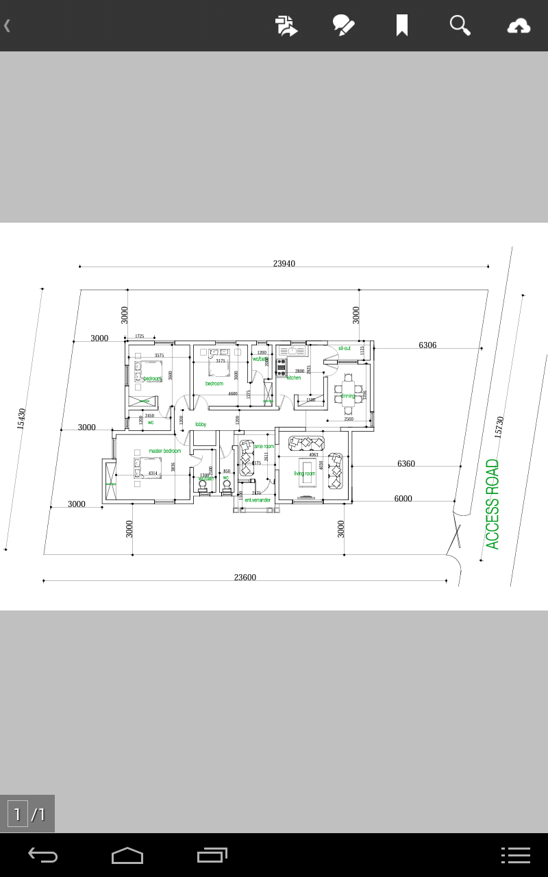 How Many Bedroooms Can Fit In A Half Plot Of Land Lagos Properties Nigeria Three Bedroom House Plan Small House Design Plans Free Floor Plans