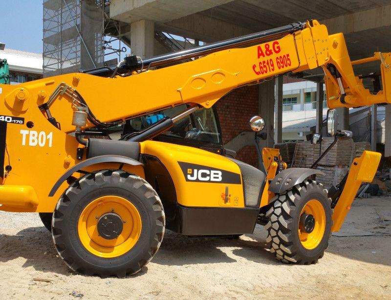 Ag equipment pte ltd specializes in heavy ground support