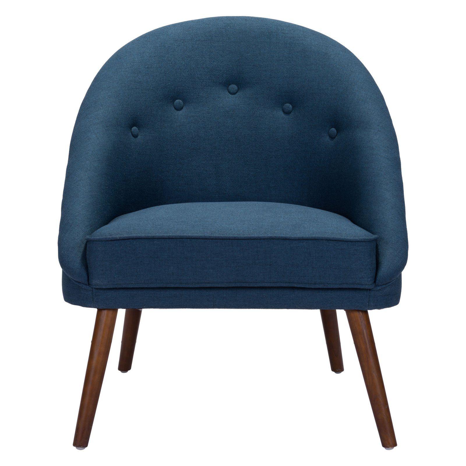 Best Zuo Modern Contemporary Carter Occasional Chair Cobalt 400 x 300