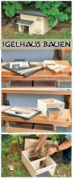 Igelhaus bauen | selbst.de #neuesdekor