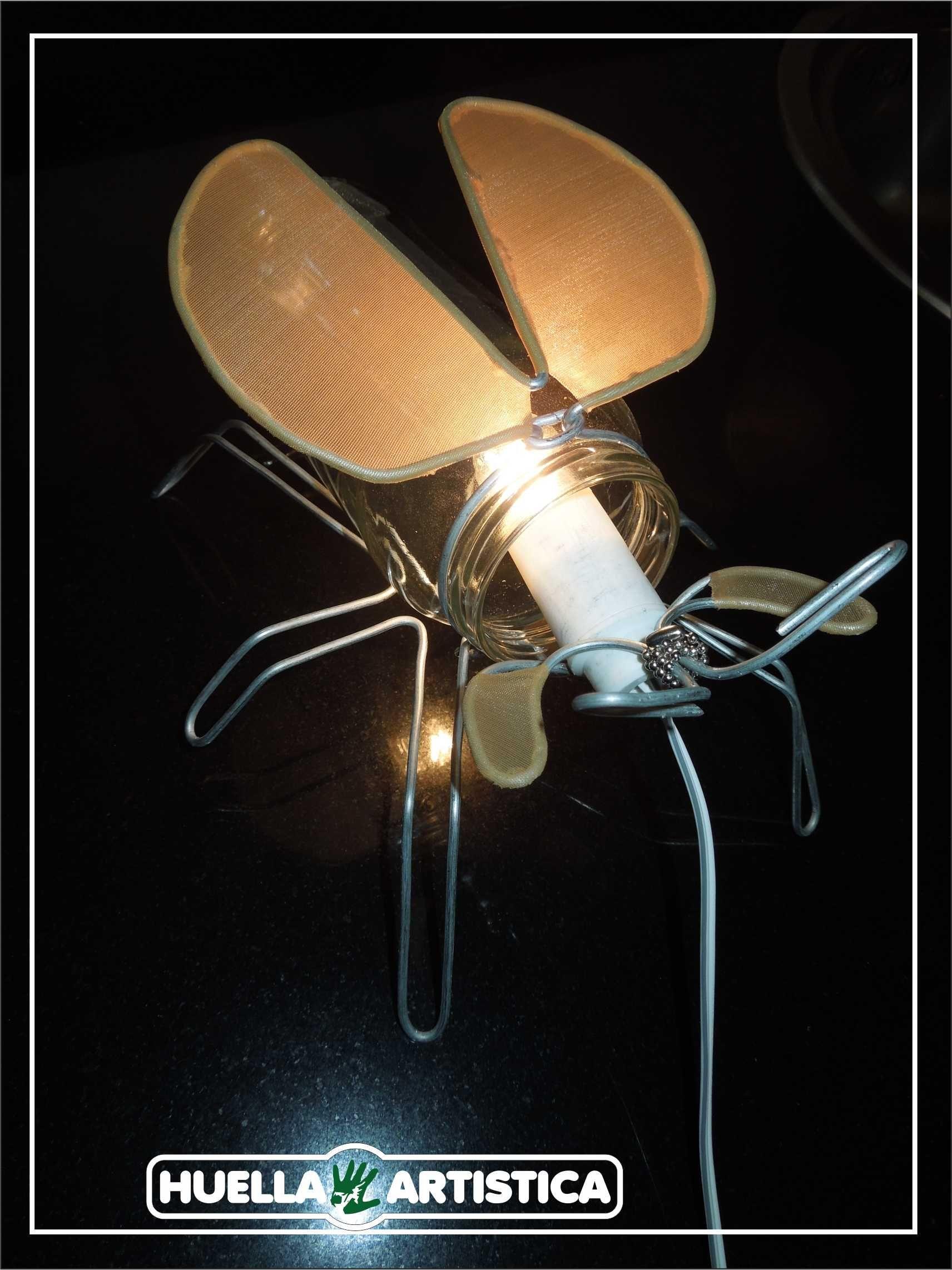 Lámparas insectos