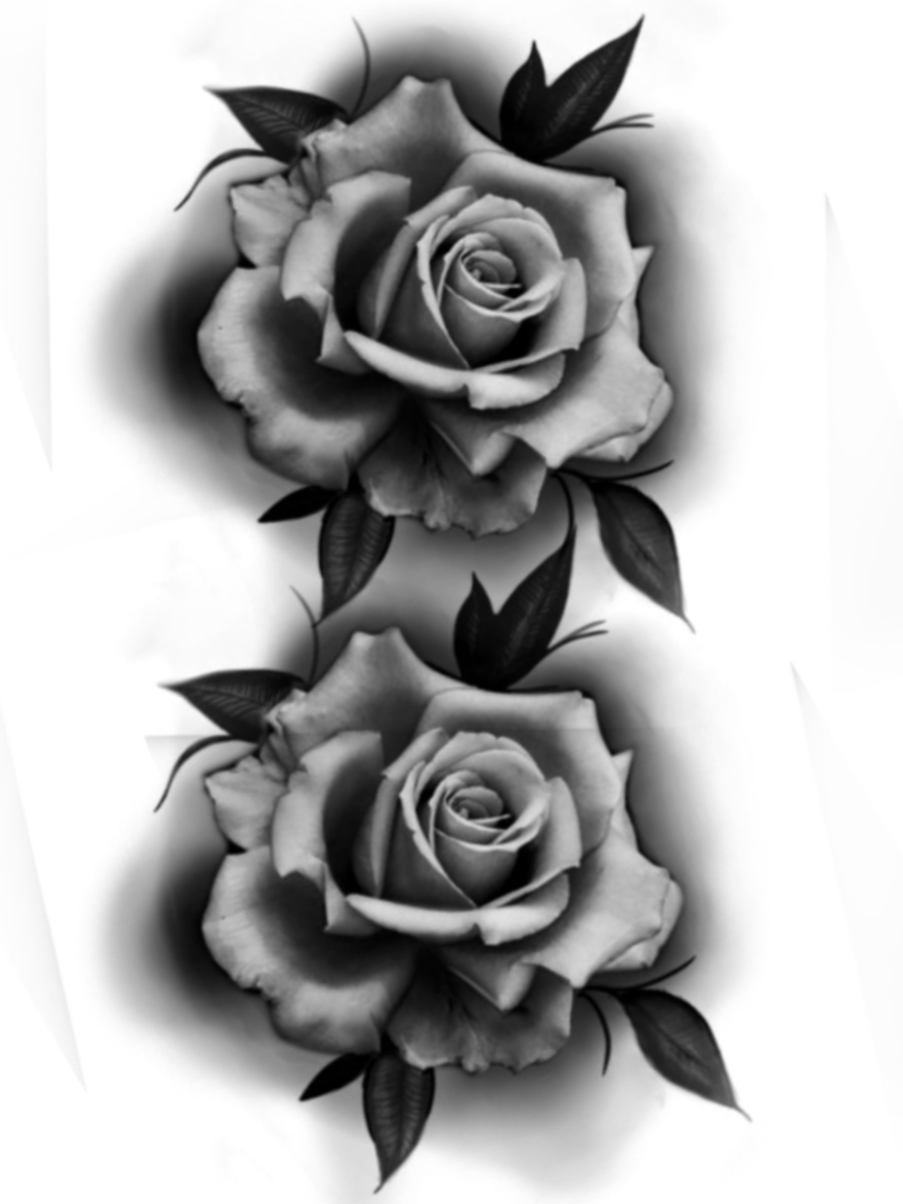 Pin By Prichu Altrui On Tattoo Rose Tattoos For Men Realistic Rose Tattoo Black Flowers Tattoo