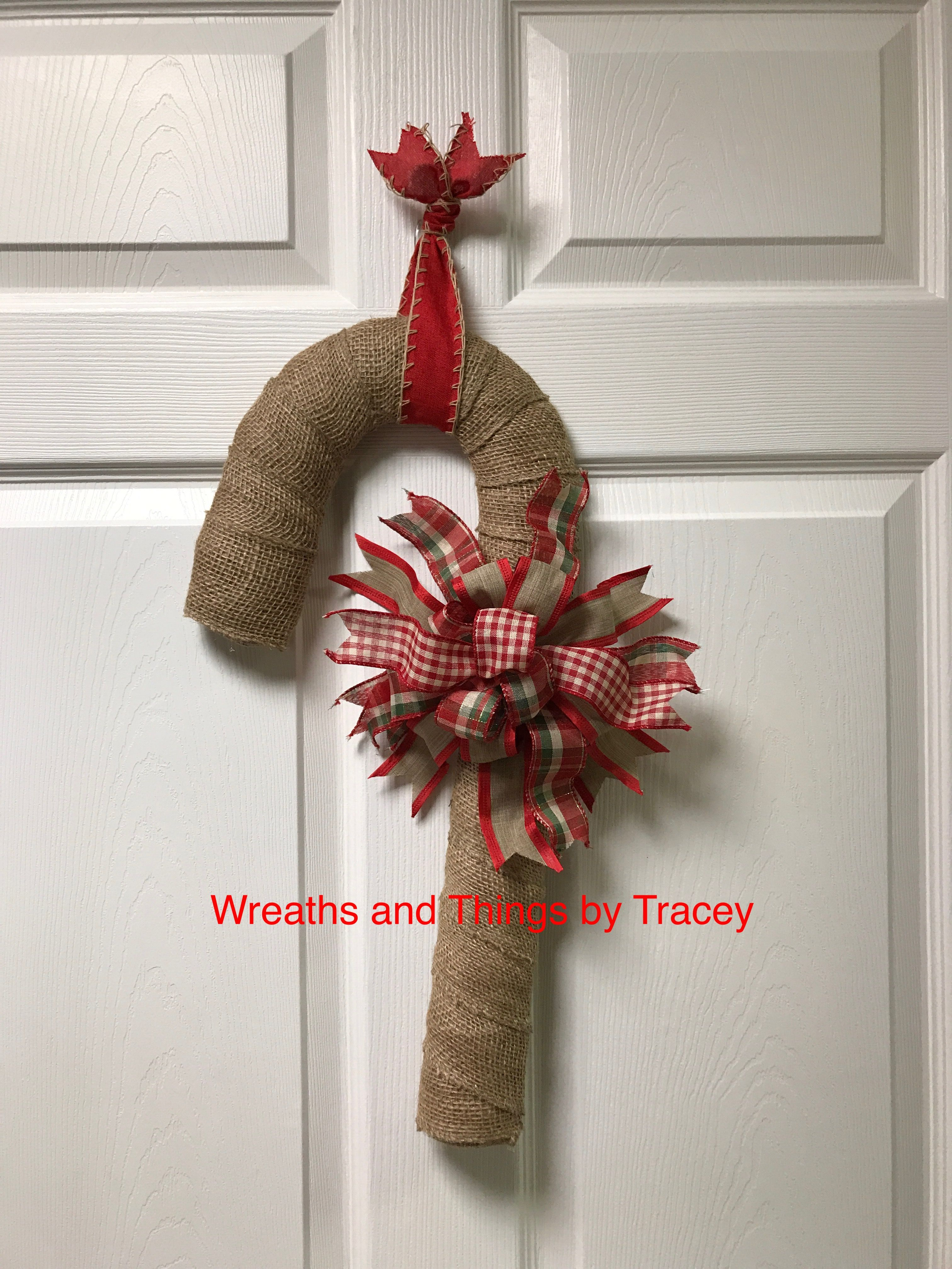 Candy Cane Burlap - 2017 - Wreaths and Things by Tracey & Candy Cane Burlap - 2017 - Wreaths and Things by Tracey | Wreaths ... pezcame.com