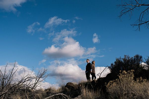 {Sloane + Tim} Engagement Session Smith Rock Central Oregon | Bend, OR Wedding Photographer – Kimberly Kay Photography