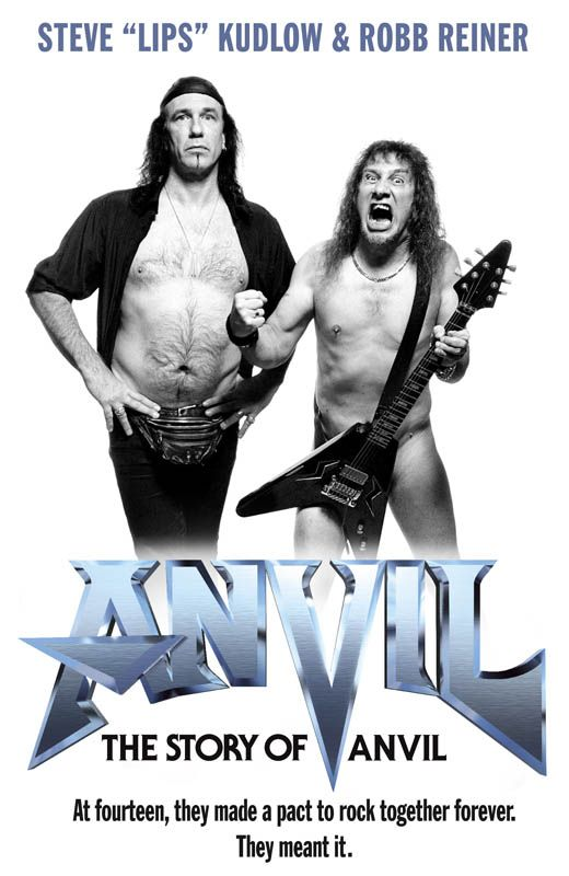The story of Anvil - Two guys who hang on to their metal dream, touching doc !
