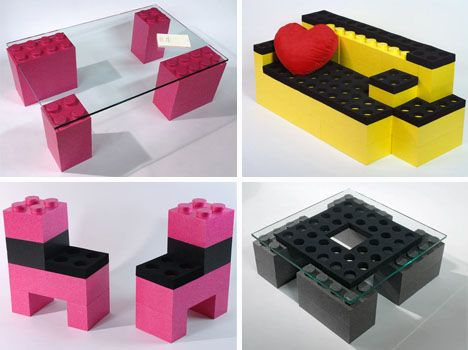 Cool DIY Design Idea  Big Modular Blocks to Make Furniture   Designs    Ideas on. Cool DIY Design Idea  Big Modular Blocks to Make Furniture