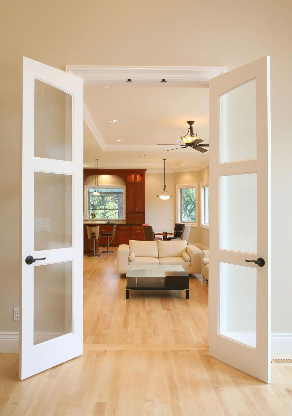 Frosted Glass French Doors 3 Panel French Door Best