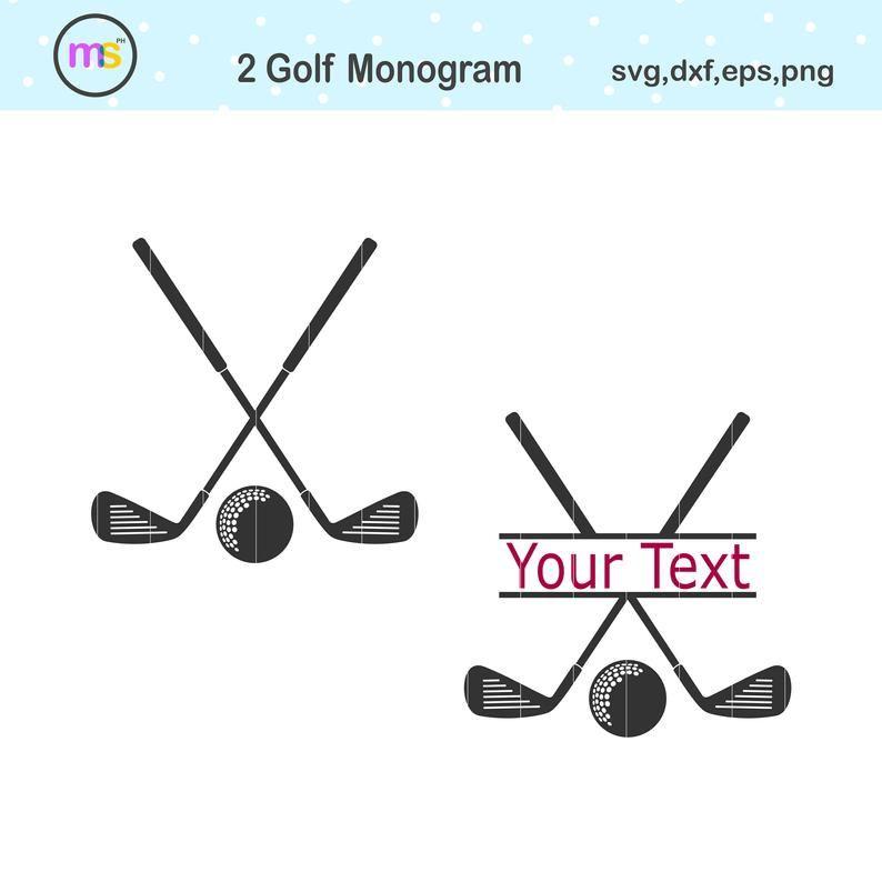 Download Golf Svg Golf Monogram Svg Golf Club Svg Golf Monogram ...