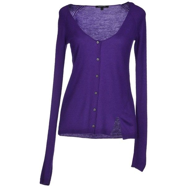 Patrizia Pepe Cardigan ($56) ❤ liked on Polyvore featuring tops ...