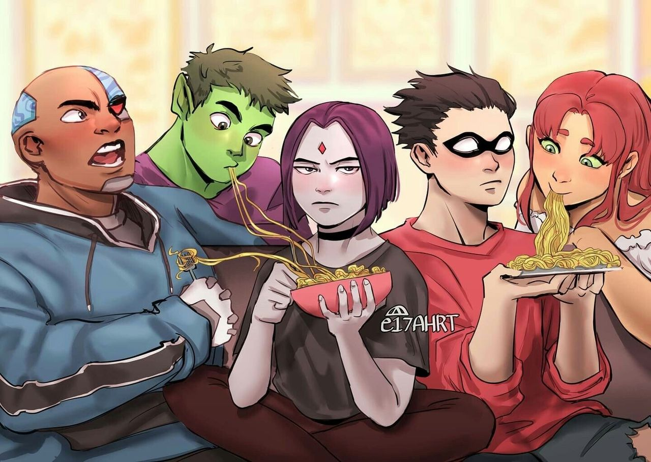 Teen Titans Vk
