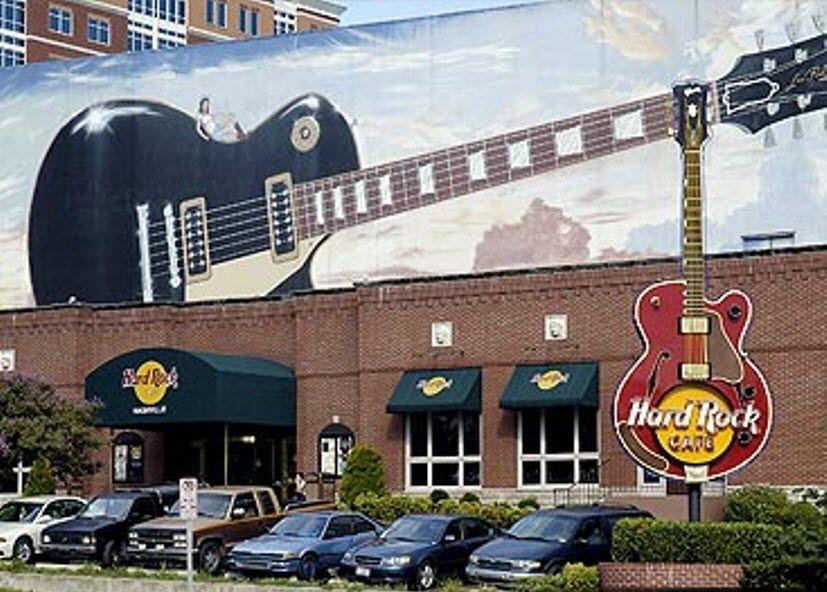Hard rock cafe downtown nashville nashville nashville