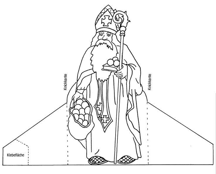 Bischof Nikolaus De Mitmachen Heiliger Nikolaus St Nikolaus Sankt Nikolaus