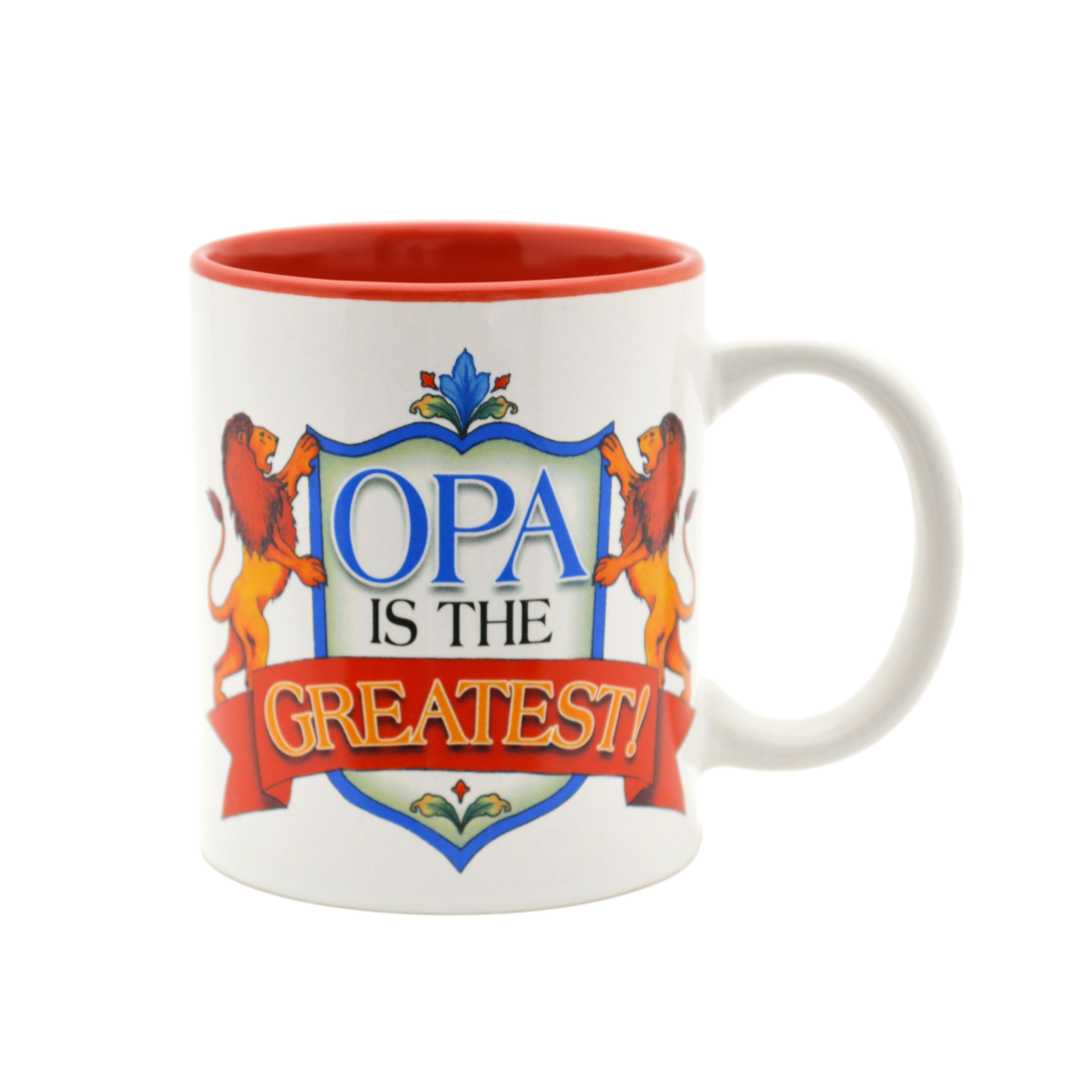 """Opa is the Greatest"" Gift for Opa Mug"