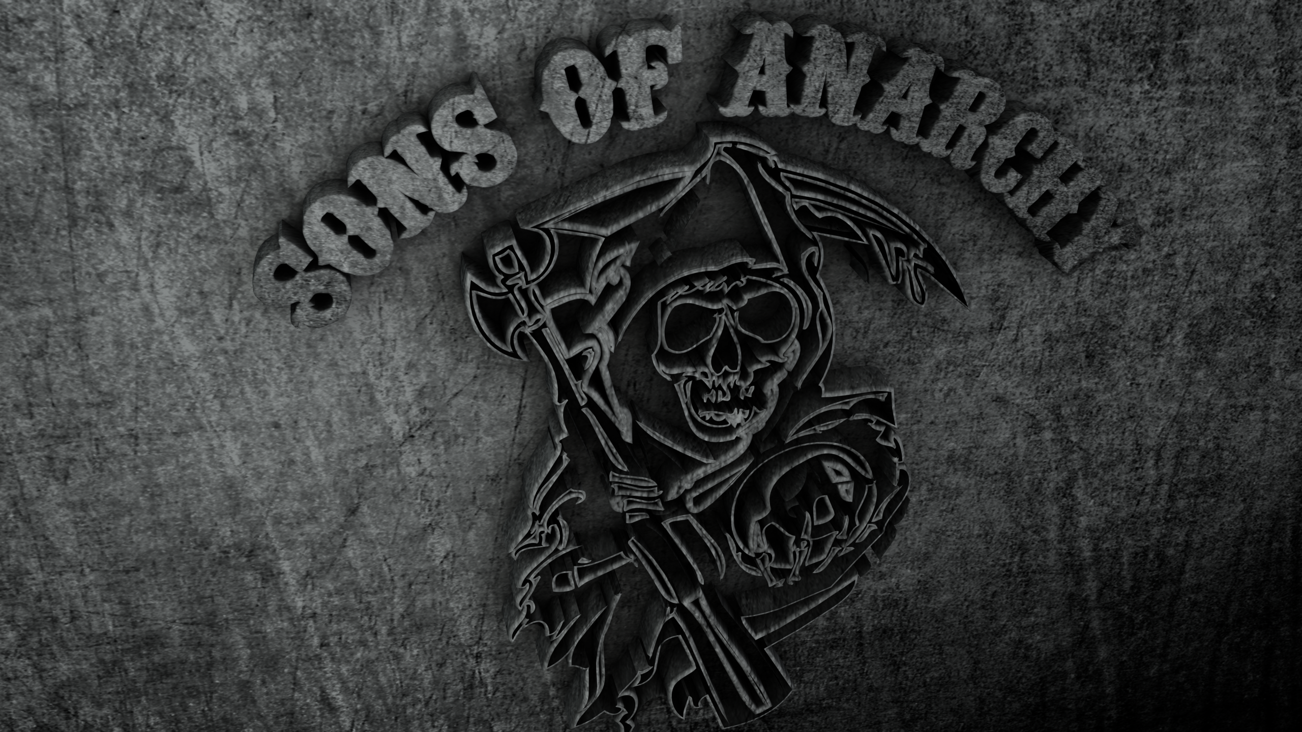 Sons Of Anarchy 3d Logo Wallpaper Hd Sons Of Anarchy Anarchy Android Wallpaper