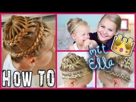 Special Crown Braid Domino Kati Dominokati Frisur Lange Haare Sweet Haartutorial Dominokati Madchen Frisuren
