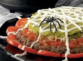 Domestic Diva: Spider Web Dip