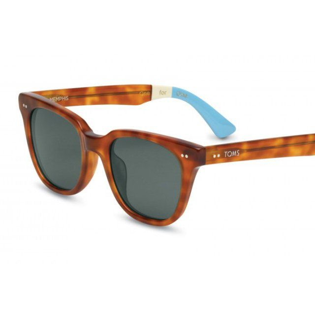 Memphis Honey Tortoise Sunglasses by TOMS   Glasses   Sunglasses ... aa8831edf6c