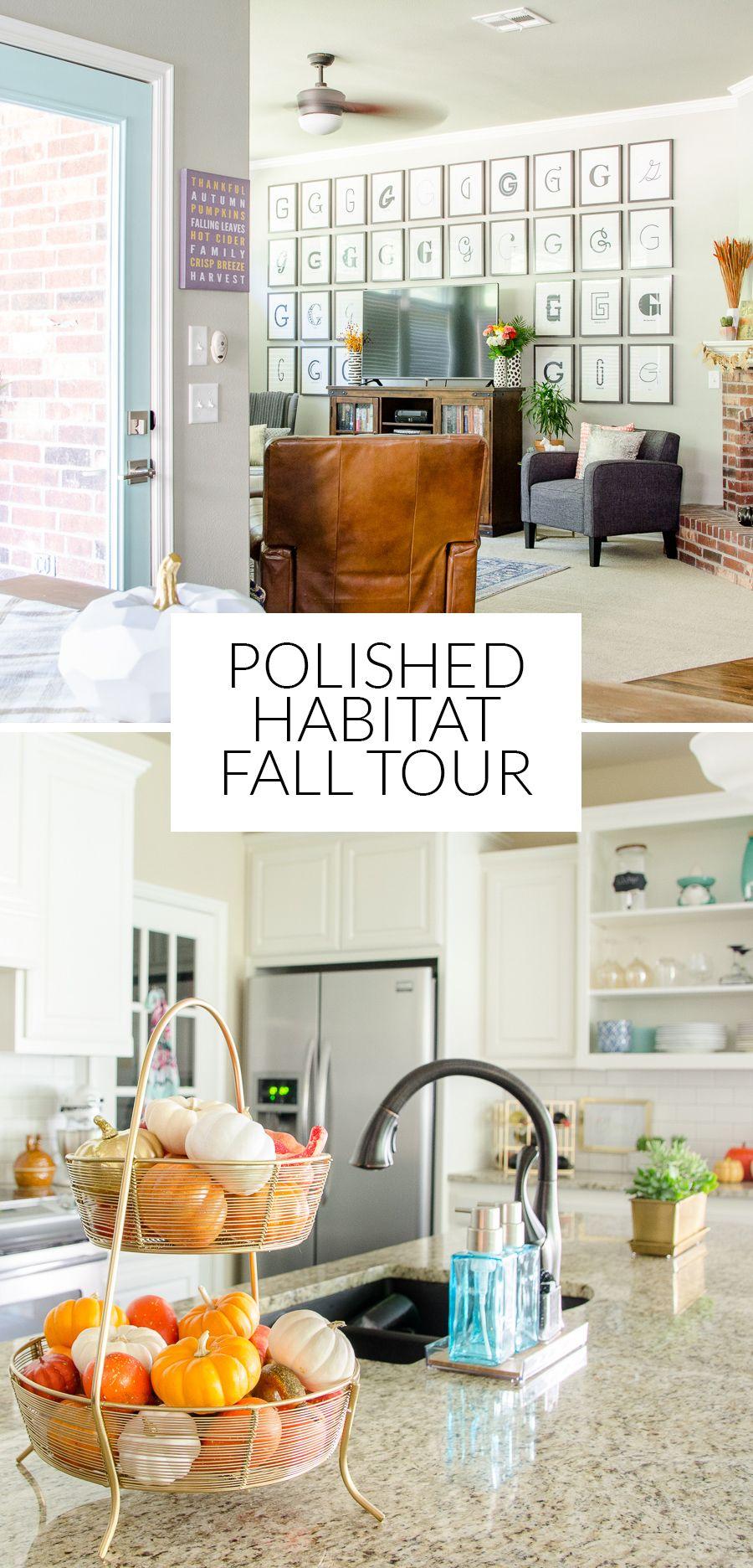 Modern / Transitional Fall Home Decor - Orange, Navy, Teal & Gray ...