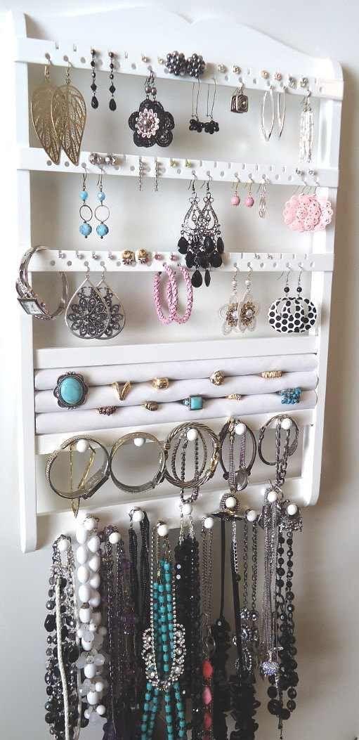 Jewelry Organizer Ring Holder White Ring Organizations and