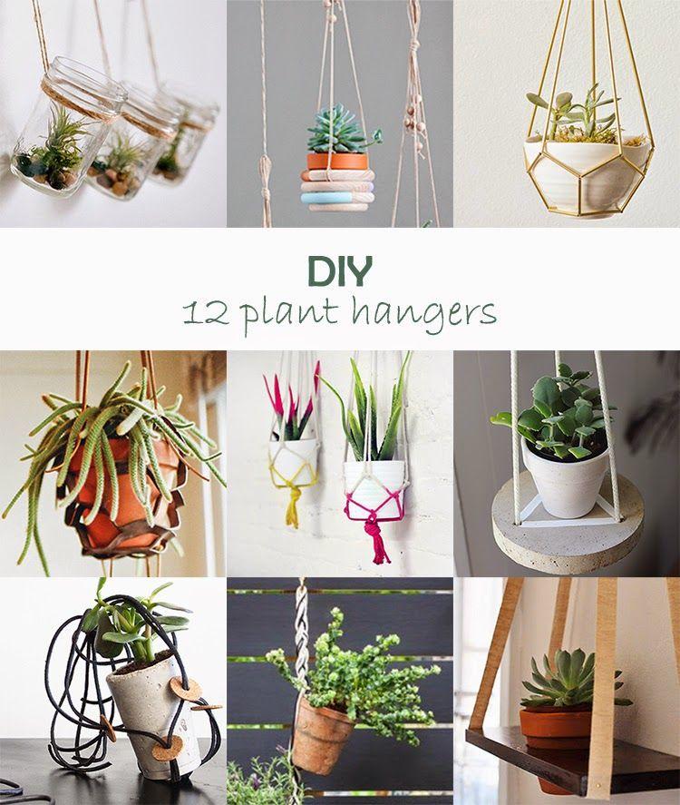 Diy Monday Plant Hangers Macetas Pintadas 400 x 300