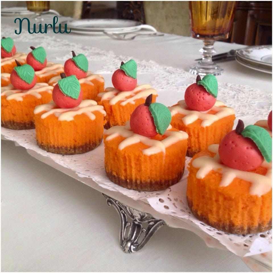 Photo of In NURLUMUTFAK + !!!: + ORANGE + CUPCHEESECAK to