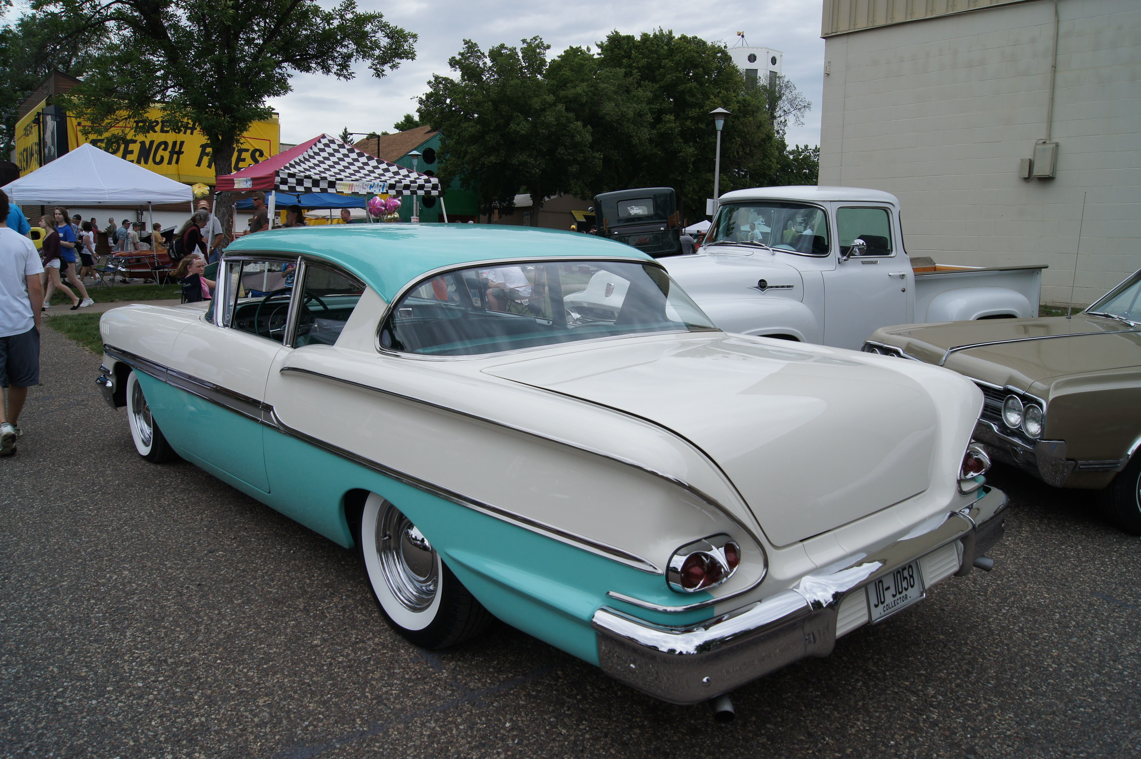 58 Chevy Biscayne Mine Was Not Nearly As Nice It Had No Interior