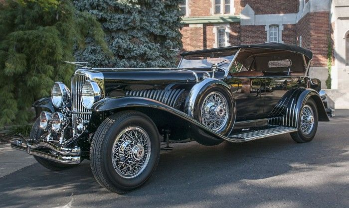 Duesenberg Model J Dual Cowl Phaeton Takes Best In Show At