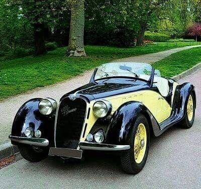 1939 Alfa Romeo Tipo 6C 2500 Super Sport
