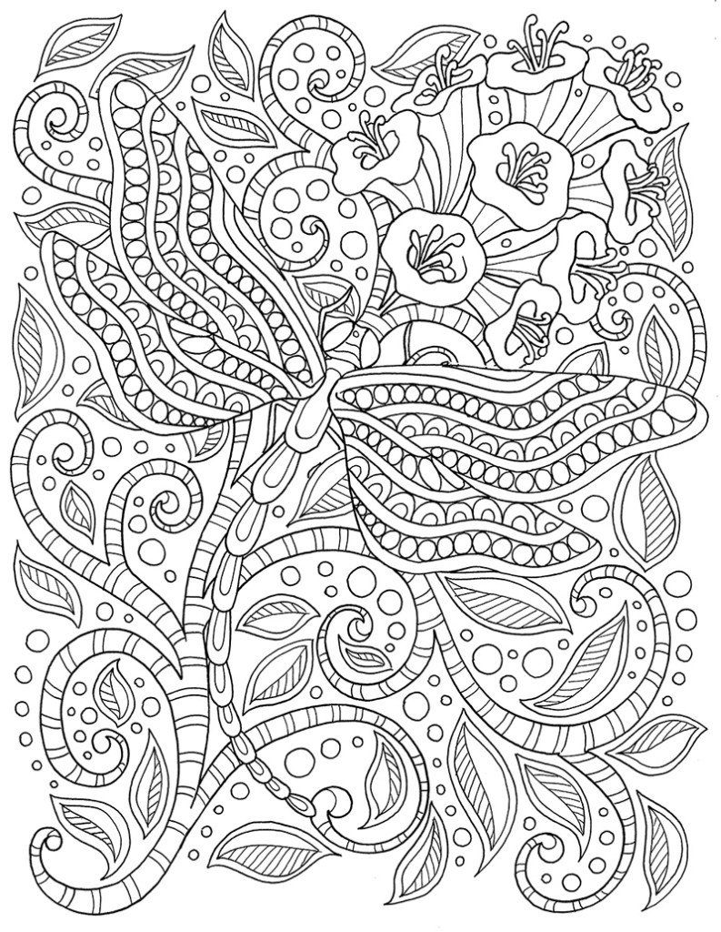 dragonfly | for the kid in me | Pinterest | Mandalas, Colorear y Dibujo