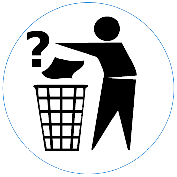 Garbage In Garbage Out Logo Keep It Cleaner Free Clip Art Clip Art