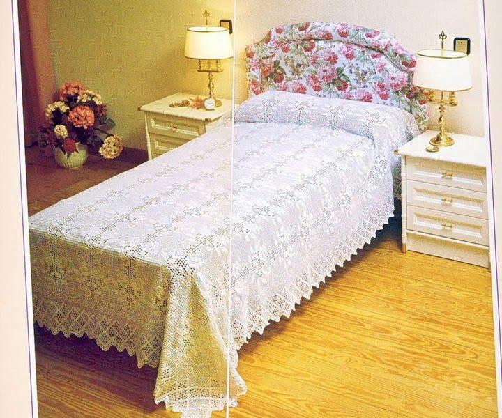 Crochet: Bedspread | Jete de lit | Pinterest