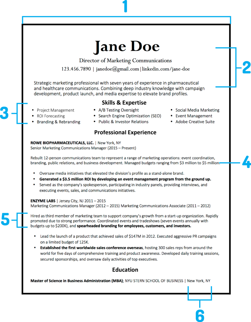 How A Resume Should Look What Your Resume Should Look Like In 2018  Template And Blogging
