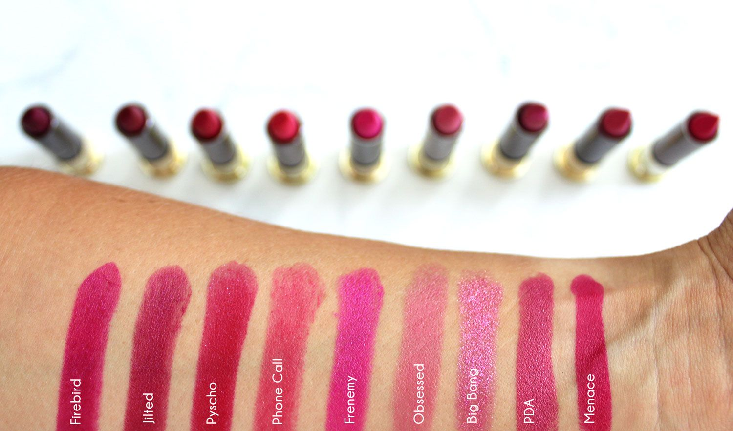 urban decay vice lipstick swatches by my beauty bunny