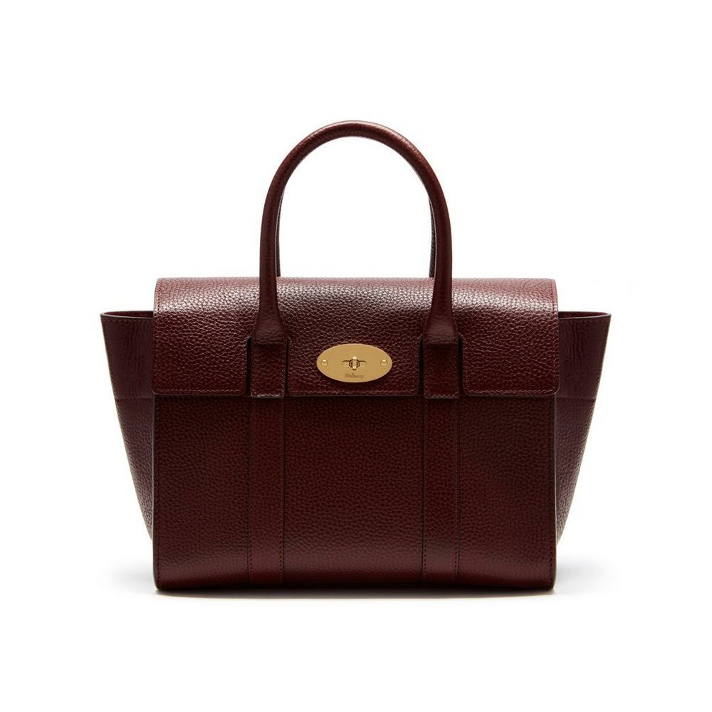 1defbf8854 Shop the Small New Bayswater in Oxblood Natural Grain Leather. For the Small  Bayswater the strap attachment has been optimised and new branding has been  ...