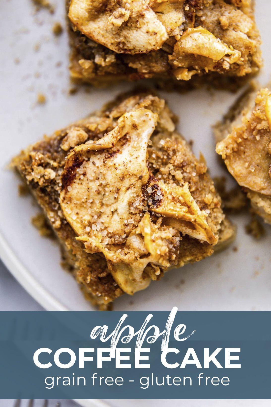 Almond Flour Apple Coffee Cake Grain Free Recipe Cotter Crunch Recipe Almond Flour Cakes Apple Coffee Cakes Coffee Cake
