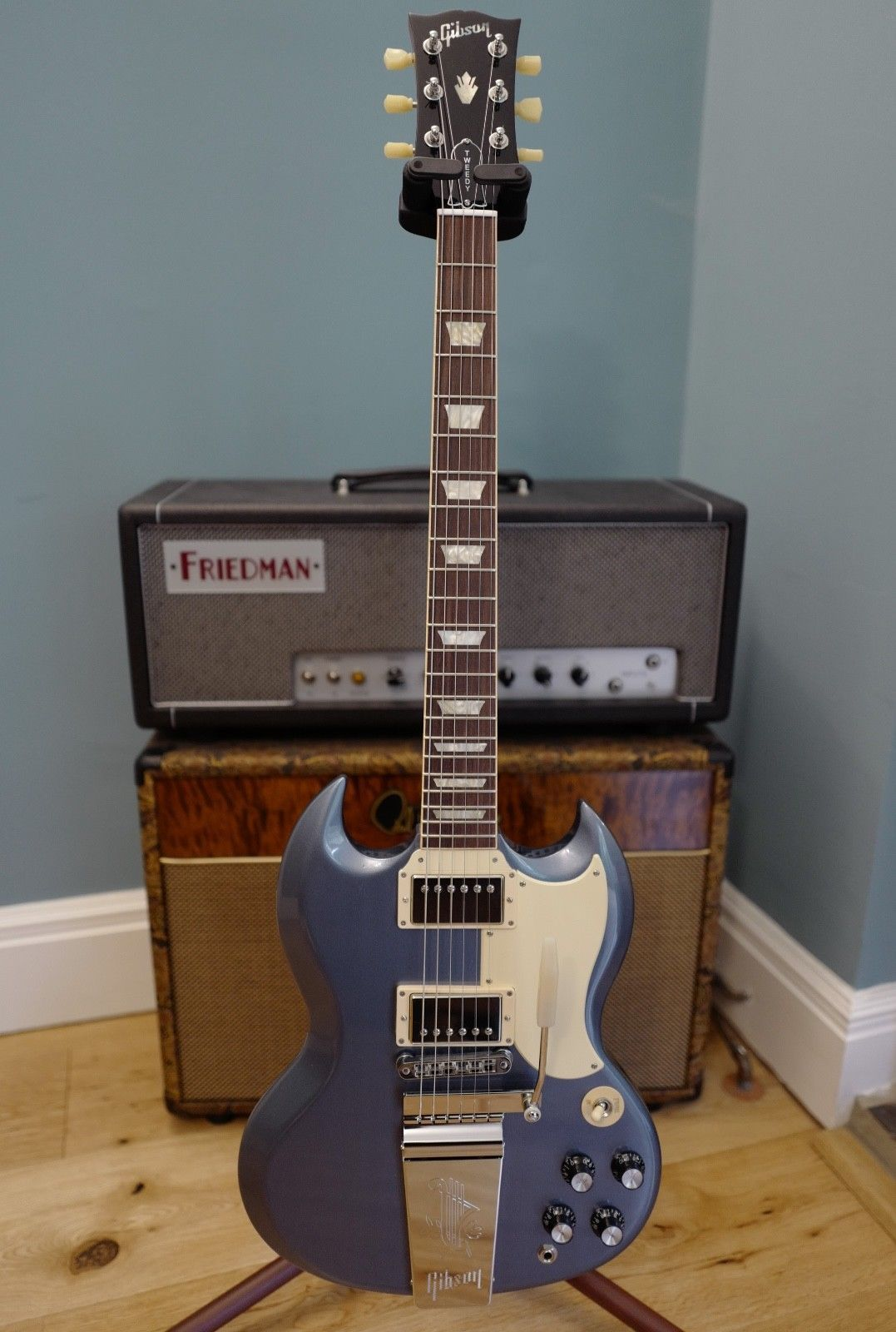 Gibson Sg Jeff Tweedy Signature 61 Wilco Tools Of The Gods