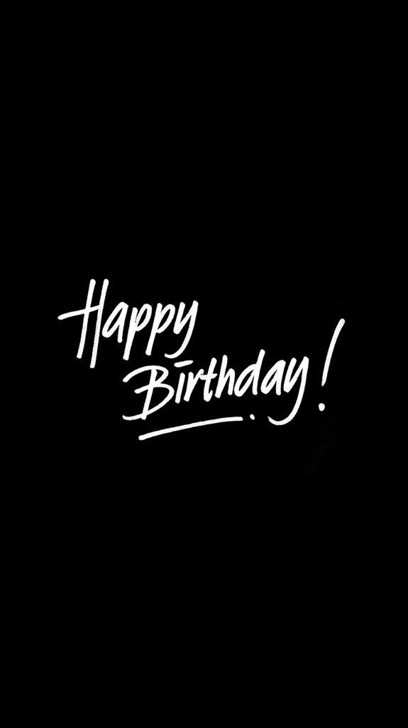 Happybirthday Blacktheme Kartu Ulang Tahun Kata Kata Indah Ungkapan Lucu