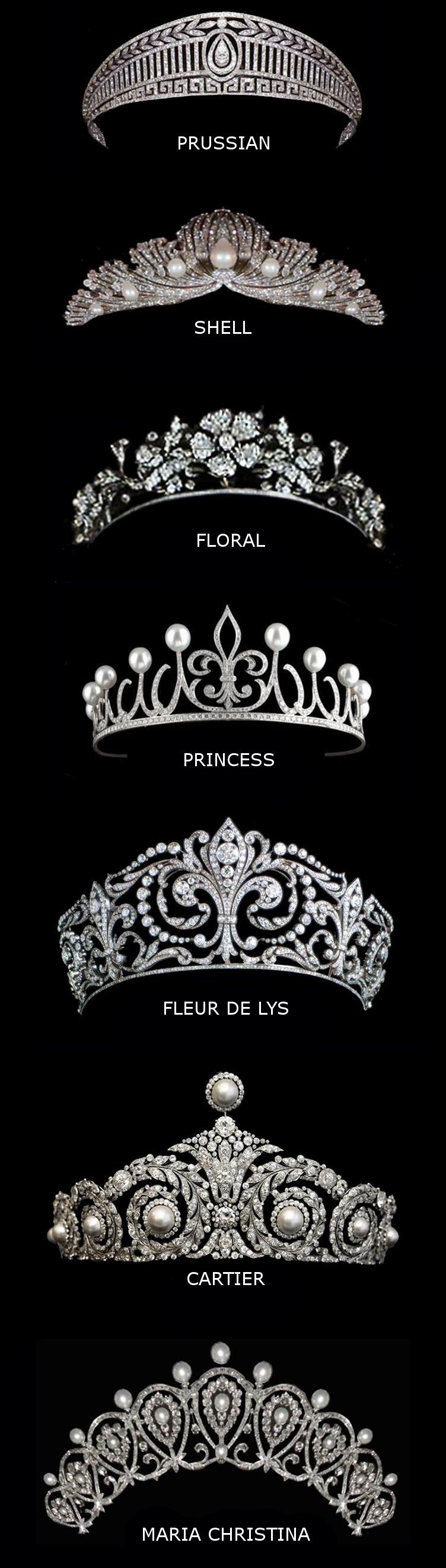 Spanish royal tiaras