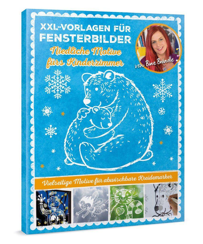 Xxl Vorlagen Fur Fensterbilder Niedliche Motive Furs Kinderzimmer Book Cover Books Art