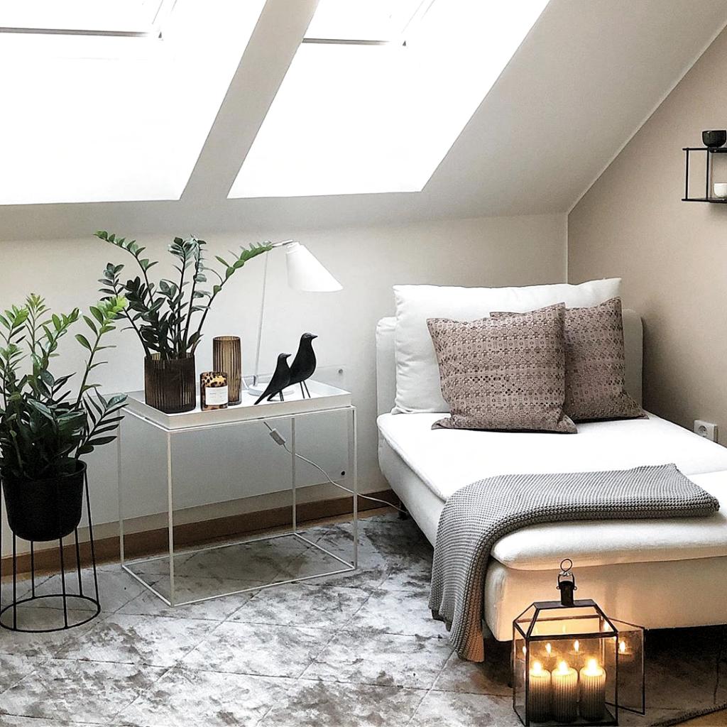 Raum mit Dachschräge einrichten Tipps & Ideen   GLAMOUR ...
