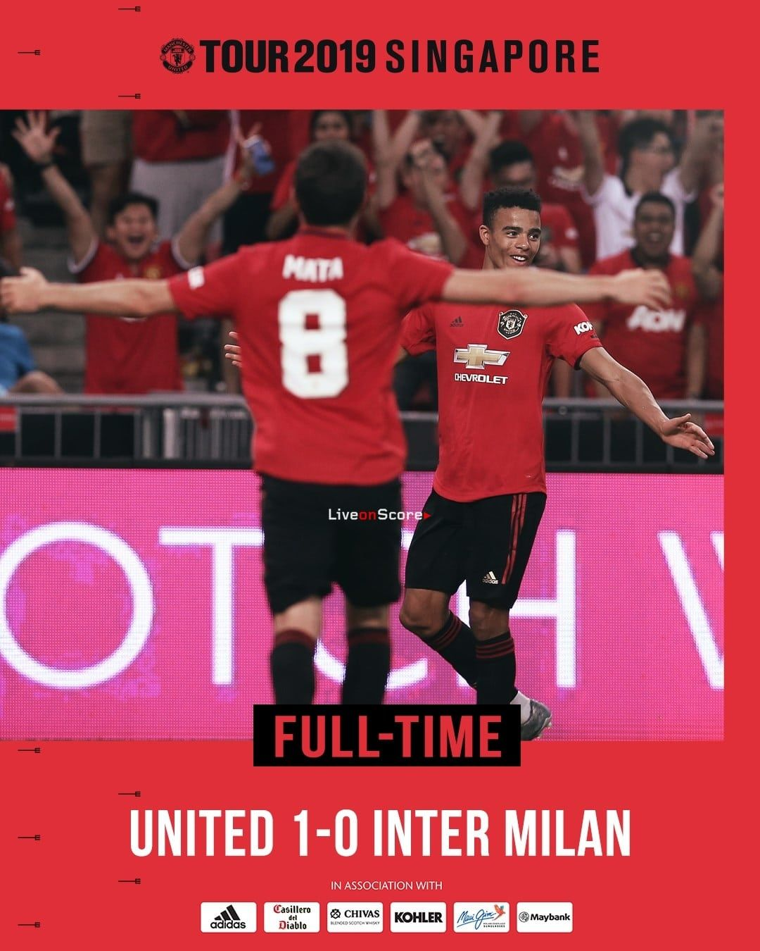 Manchester Utd 1 0 Inter Full Highlight Video International Champions Cup 2019 International Champions Cup Manchester United Football Club Full Highlights