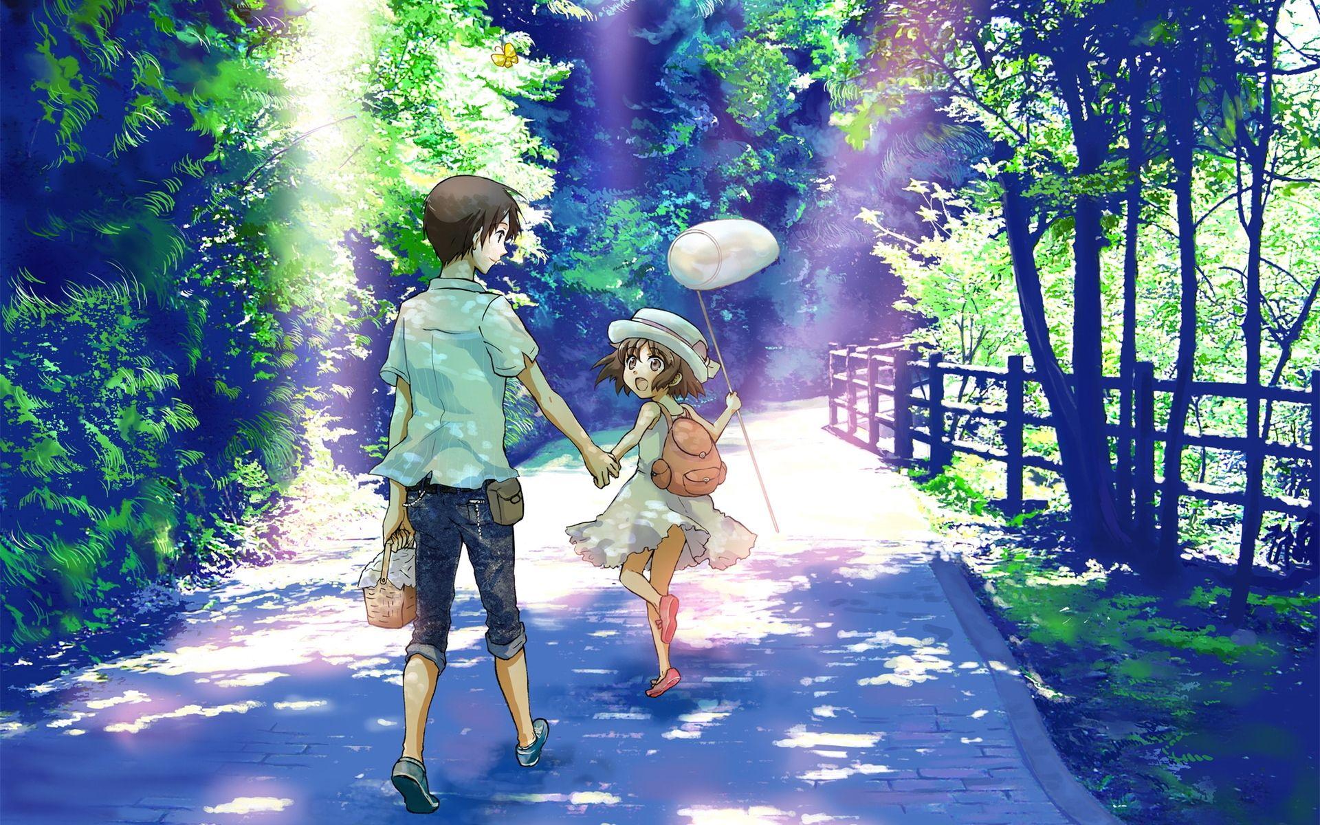 Summer Anime Anime Scenery Anime Summer Anime Wallpaper Download Anime summer wallpaper hd
