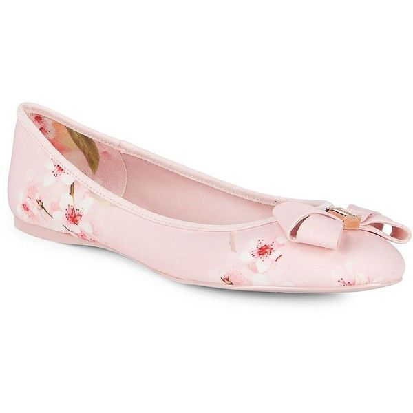9e7d3c61ad0f93 Ted Baker London Women s Immep 2 Floral-Print Bow Ballet Flats ( 115 ...